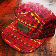 OBEY Marrakesh 5 Panel Red