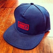 OBEY New Original in Navy