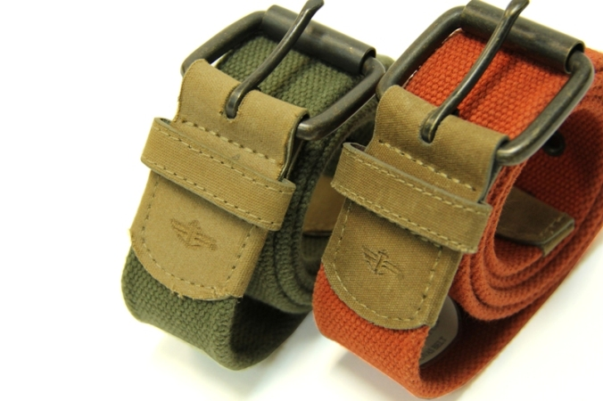 Bright Colored Dockers Canvass Belts