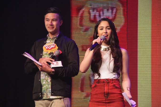 Event Hosts - Chino Lui Pio & Julia Barretto 2