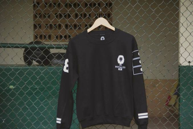 Royalty Baseball Crewneck